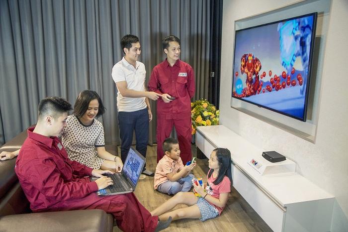 VTVcab trang bị miễn phí đầu thu HD